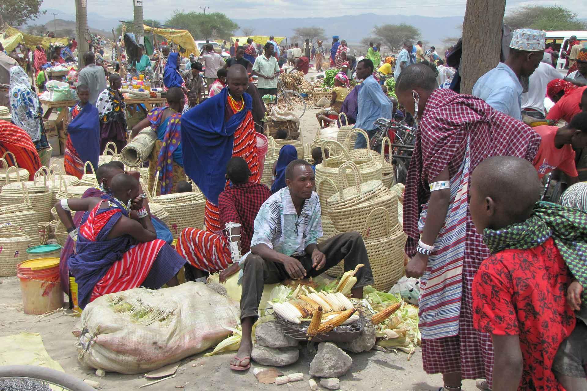 Marktplatz Zentralafrika