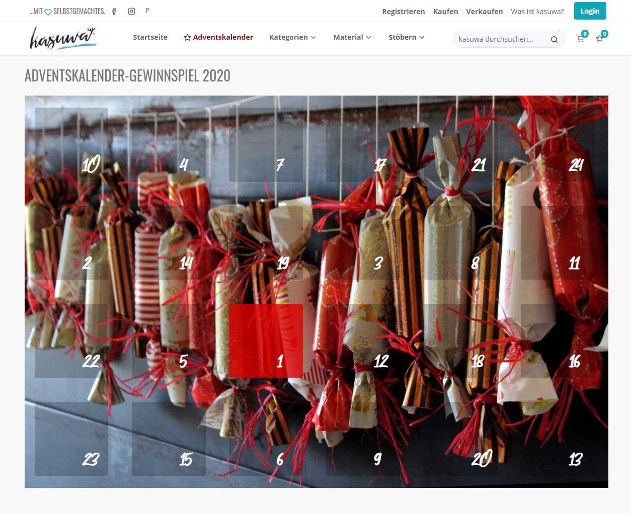 kasuwa-Adventskalender: 24 Tage lang Spaß und Spannung in der Vorweihnachtszeit
