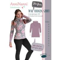 "Schnittmuster Anni Nanni ""Tollkragen Shirt"" Bild 1"
