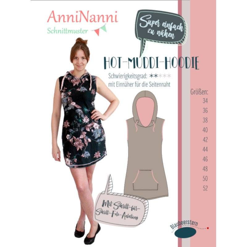 "Schnittmuster Anni Nanni ""Hot Muddi-Hoodie"" Bild 1"