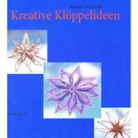 Buch Kreative Klöppelideen – Sterne in 3 D  Klöppelbriefe Anleitungen klöppeln Faltstern Origami Klöppelspitze  Bild 1