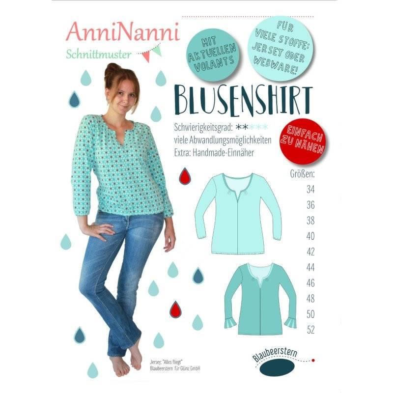 """Schnittmuster Anni Nanni """"Blusenshirt"""" Bild 1"""