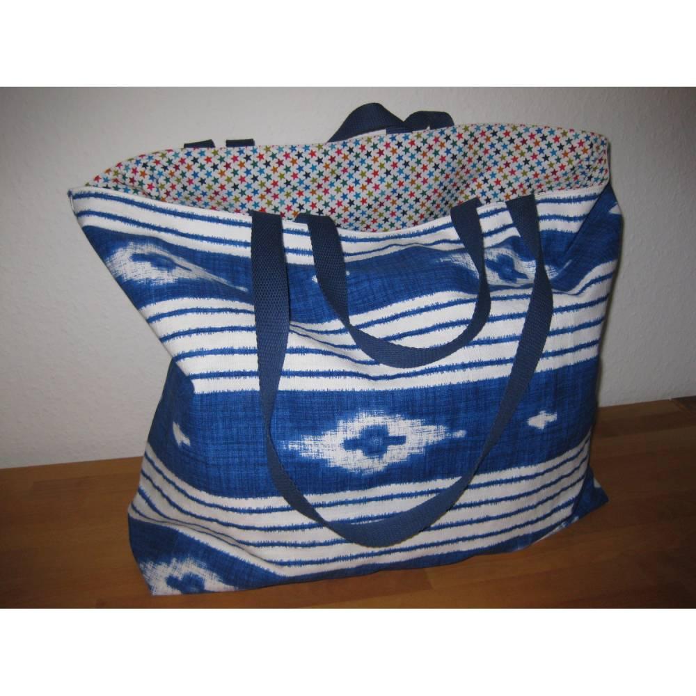 Stofftasche XL aus Baumwolle Bild 1