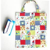 Einkaufsbeutel,  Kindergartentasche, kleine Einkaufsbeutel, Einkaufstasche Kaufladen, Turnschuh-Beutel Bild 1