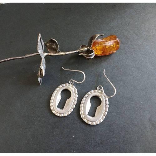 Schlüsselloch Ohrringe