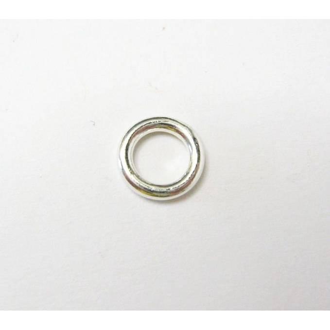 2 Stuck Biegeringe 8 mm geschlossen aus Silber 925 zur Schmuckherstellung Bild 1