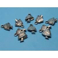 10 x Pilz, Fliegenpilz Metallanhänger / Charms Bild 1