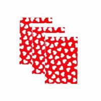 10 Papiertüten Herz rot 17x25 cm Bild 1
