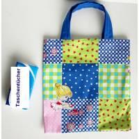 Stofftasche Stoffbeutel Kindergartentasche, kleine Einkaufstasche, Kinderbeutel, Turnschuh-Beutel, Einkaufsbeutel Kinder Bild 1