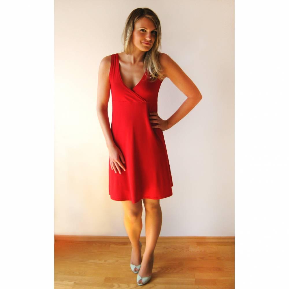 Party-Kleid von Feen und Helden AVA rot  Bild 1