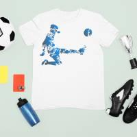 Bügelbild Fussballer 5 Bild 1
