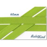Gurtband - Lime - 40mm Bild 1