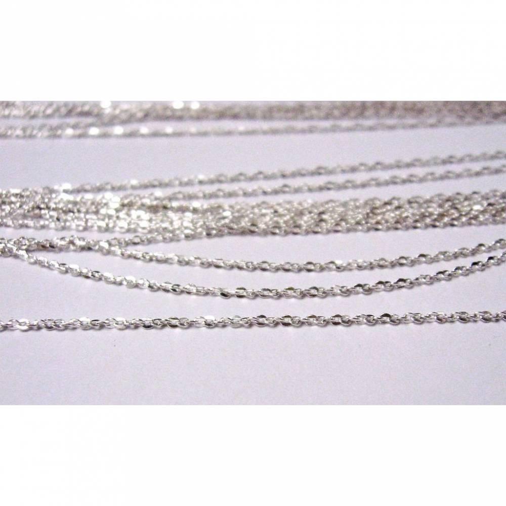 50 cm Ankerkette 1,0 mm_ Silber 925 Bild 1
