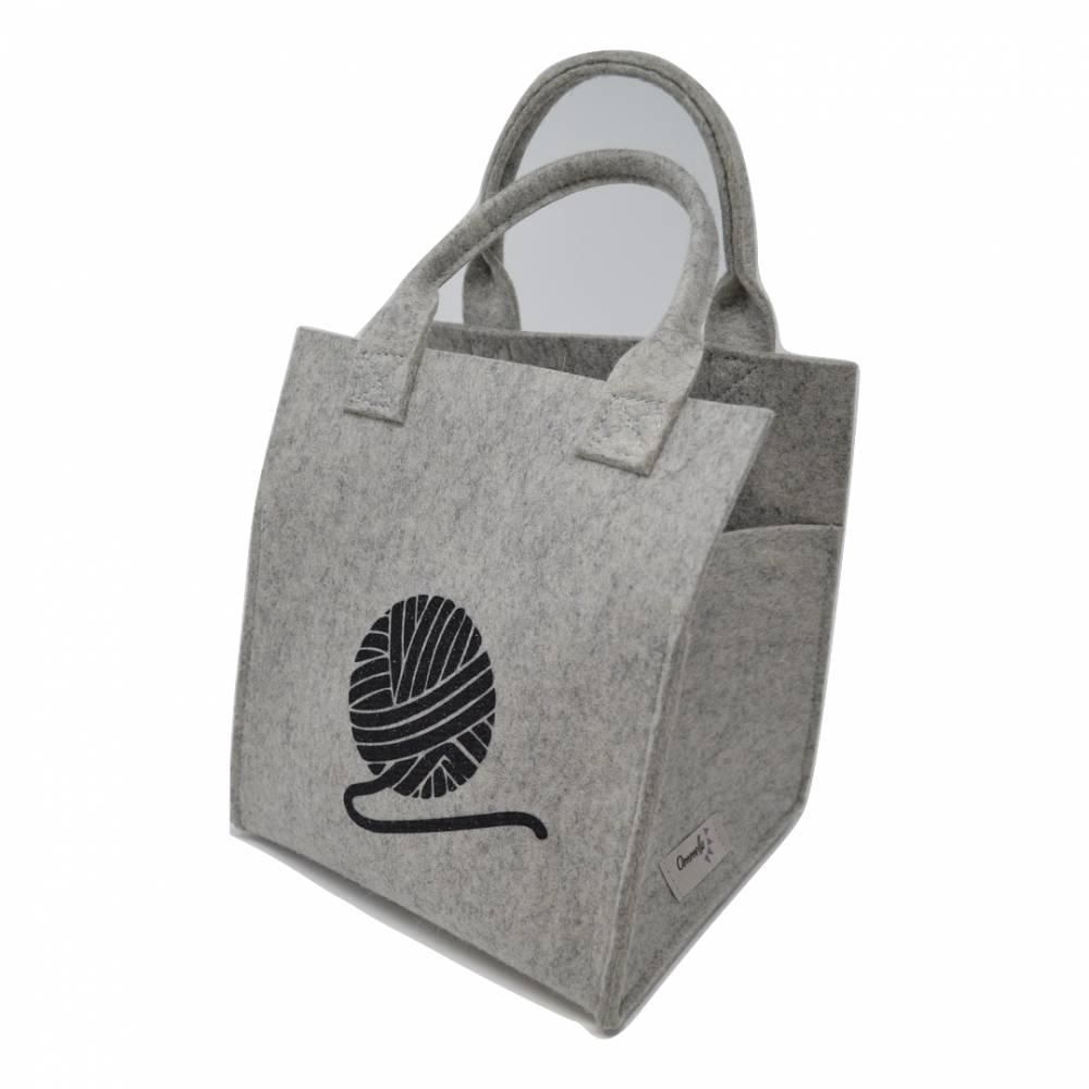 Bobbel-Tasche/-Halter  Bild 1