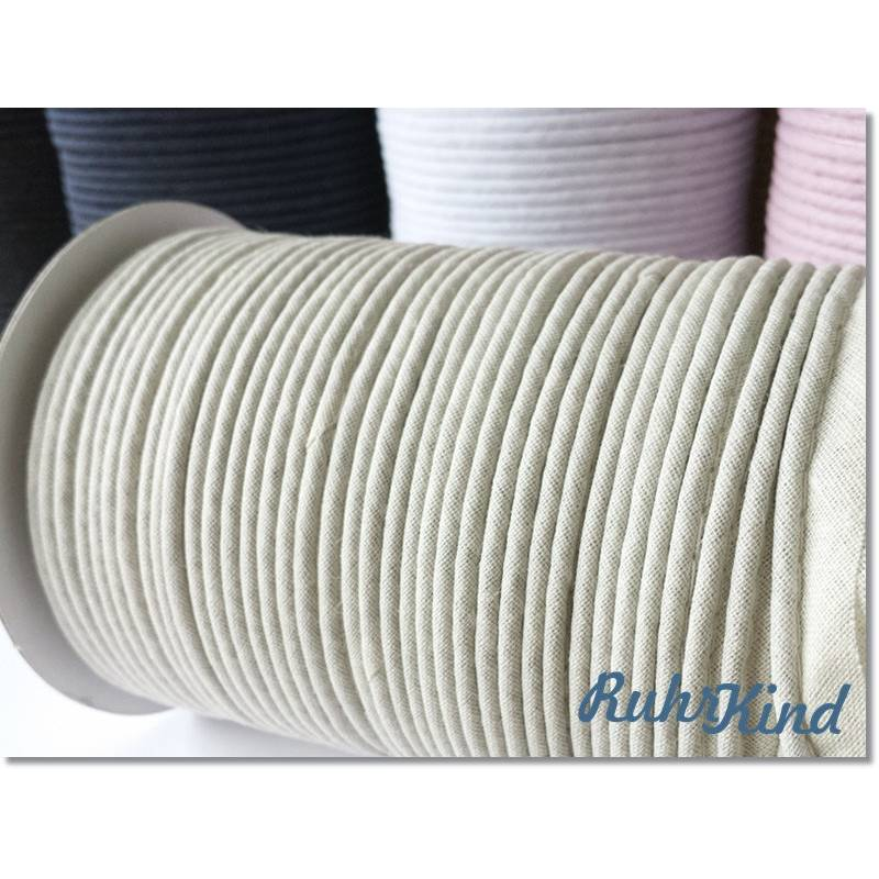 Paspelband - Baumwolle - Beige Bild 1