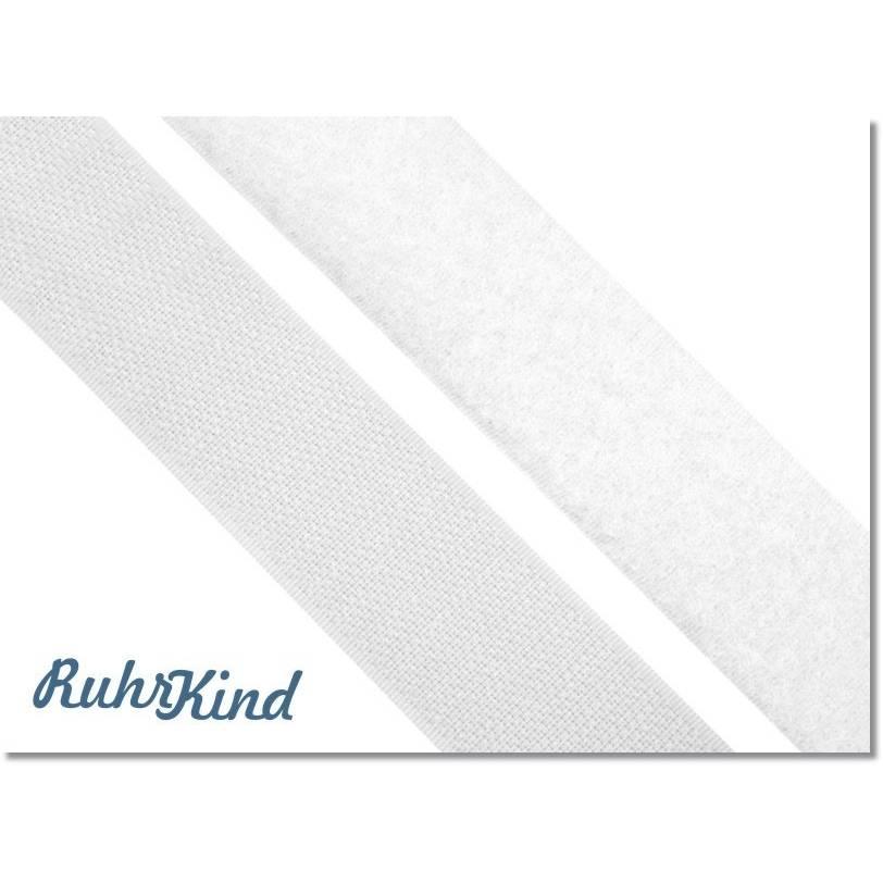 Klettband - 25mm - Weiss Bild 1