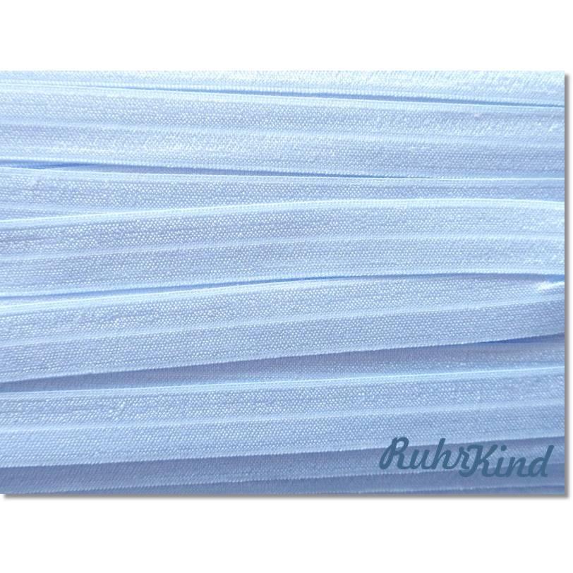 Elastisches Einfassband - Hellblau Bild 1