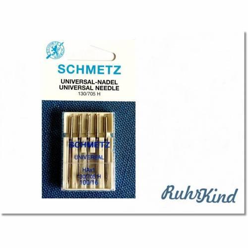 Schmetz - 5 x Universal Nadel - 100/16