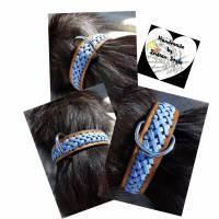 Hundehalsband mit Flechtung (HH 16) Bild 1