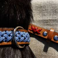 Hundehalsband mit Flechtung (HH 16) Bild 3