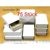 75 Mini-Schachteln Sortieren Aufbewahren, Basteln, Adventskalender Schachteln Bild 1