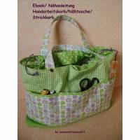 E-Book Handarbeitskorb, Stricktasche, Nähkorb, Nähanleitung Bild 1