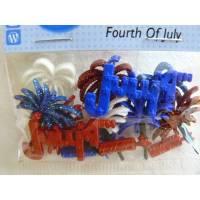 Dress it up Buttons     4. Juli (1 Pck.)    Fourth Of July Bild 1