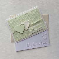 Hochzeit, Glückwunschkarte zur Hochzeit, Hochzeitskarte Bild 1
