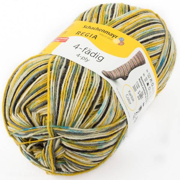Regia Sockenwolle 4 fach Karibik Color Farbnummer 01439 *Neu & OVP  Bild 1