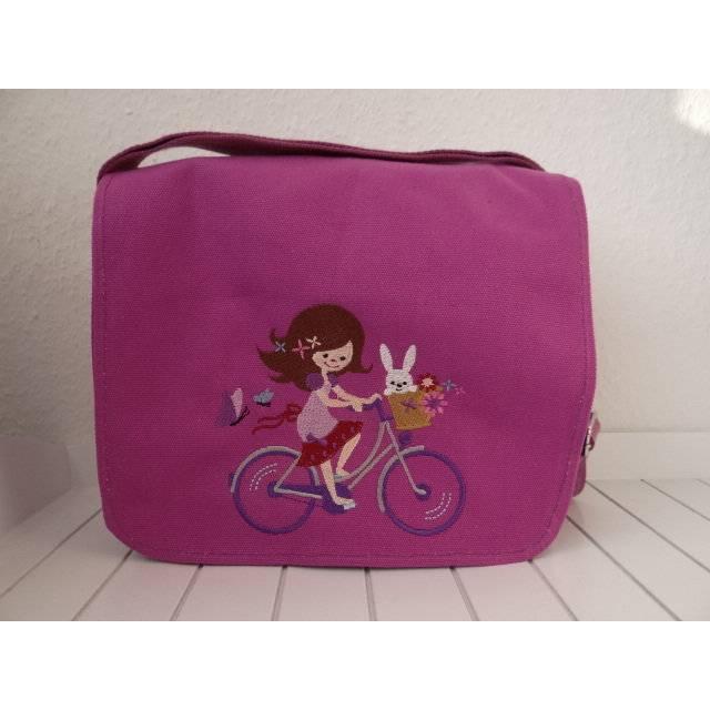 Kindergartentasche - pink - Katy Fahrrad Bild 1