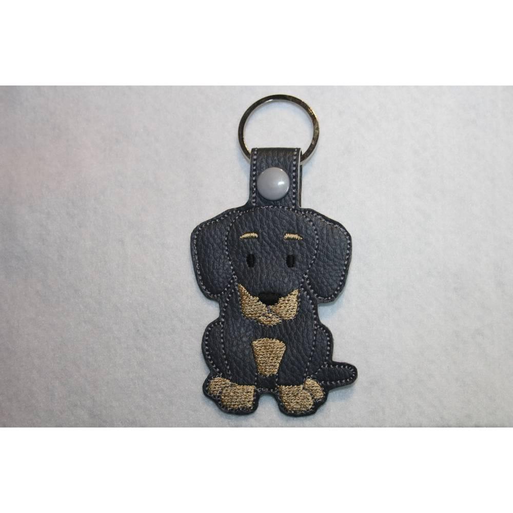 Schlüsselanhänger Dackel, Teckel Bild 1