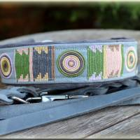 Hundehalsband MASSAI, Zugstopp Halsband für Hunde, in vier Farben, Martingale, Rhodesian Ridgeback, Afrika Bild 1