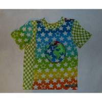 T-Shirt - Jungenshirt Sterne,  110/116 Bild 1