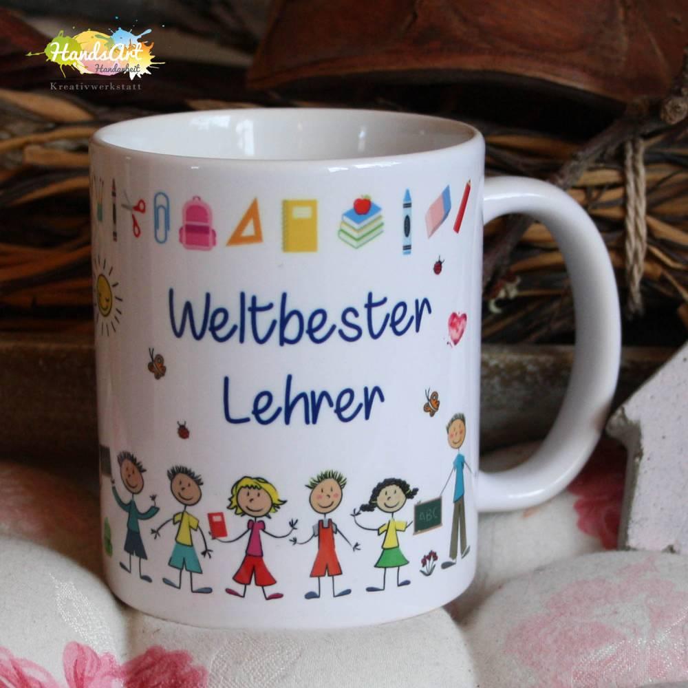 Tasse - Weltbester Lehrer Bild 1