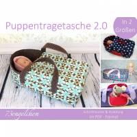 Schnittmuster/Ebook Puppentragetasche 2.0 Nähanleitung Bild 1