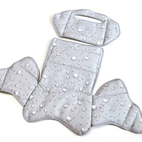 Ersatzbezug für Römer Jockey Comfort grau