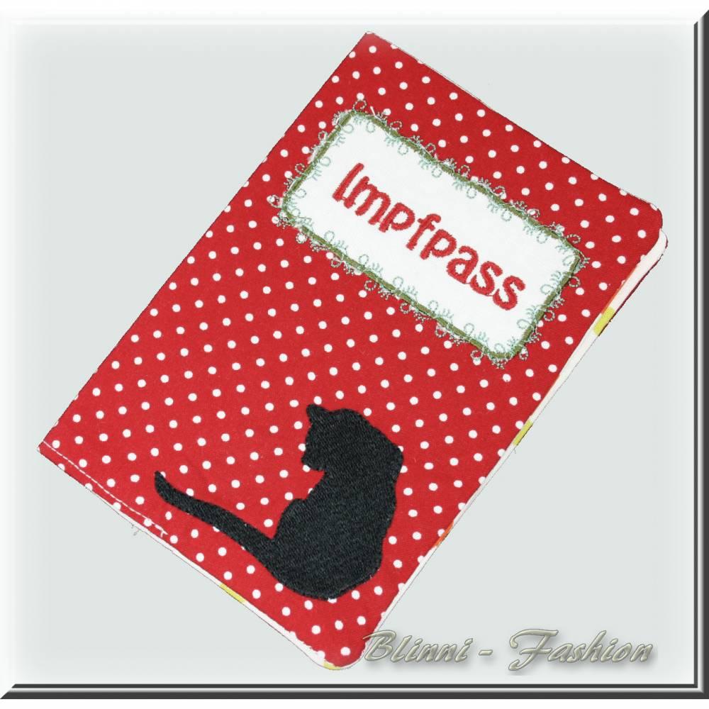 Impfpass-Hülle für Katzen, Impfausweis, Impfpasshülle für EU Tierausweis, Schutzhülle für Heimtierausweis Bild 1