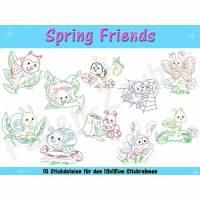 Spring Friends für den 13x18cm Rahmen Bild 1