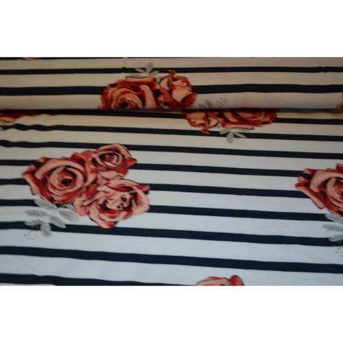 BIO-Jersey * Lillestoff * Northern Roses * 0,5 m