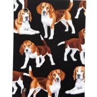 """Notizbuch """"Beagle"""" A5 Hardcover stoffbezogen Stoff Hund Geschenk Hundebesitzer Beaglefan Beagleliebhaber  Bild 3"""