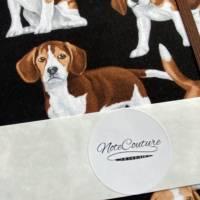 """Notizbuch """"Beagle"""" A5 Hardcover stoffbezogen Stoff Hund Geschenk Hundebesitzer Beaglefan Beagleliebhaber  Bild 7"""