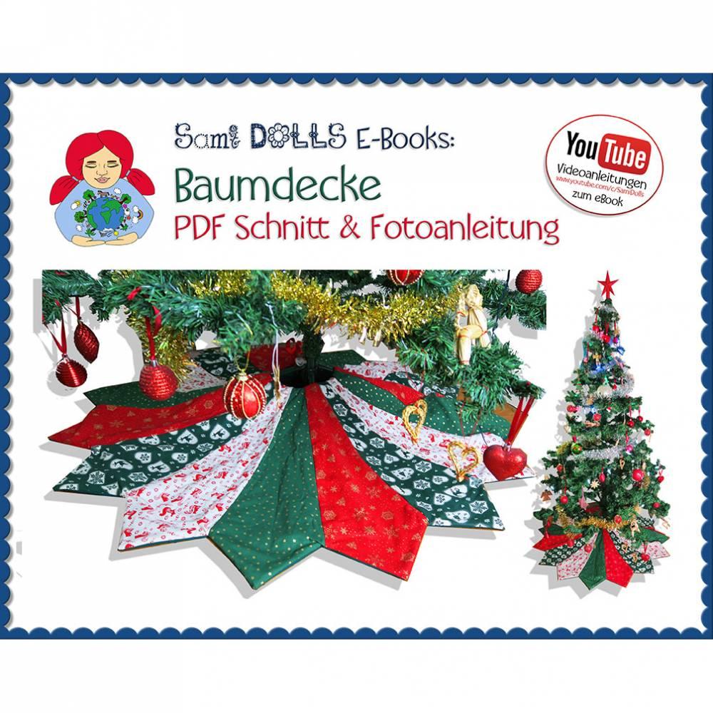 Weihnachtsbaum-Decke • Schnitt & Anleitung PDF | Sami Dolls eBooks Bild 1