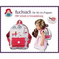 Rucksack für Puppen • Schnitt & Anleitung PDF | Sami Dolls eBooks Bild 1