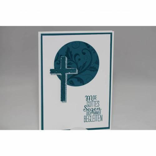 """Glückwunschkarte zur Taufe """"Kreuz"""""""