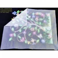 """1,0 m x 0,50 m """" MADEIRA - E-ZEE  Comfortvlies """" bi-elastische Jerseyeinlage zum abdecken von Stickerei-Rückseiten Bild 1"""