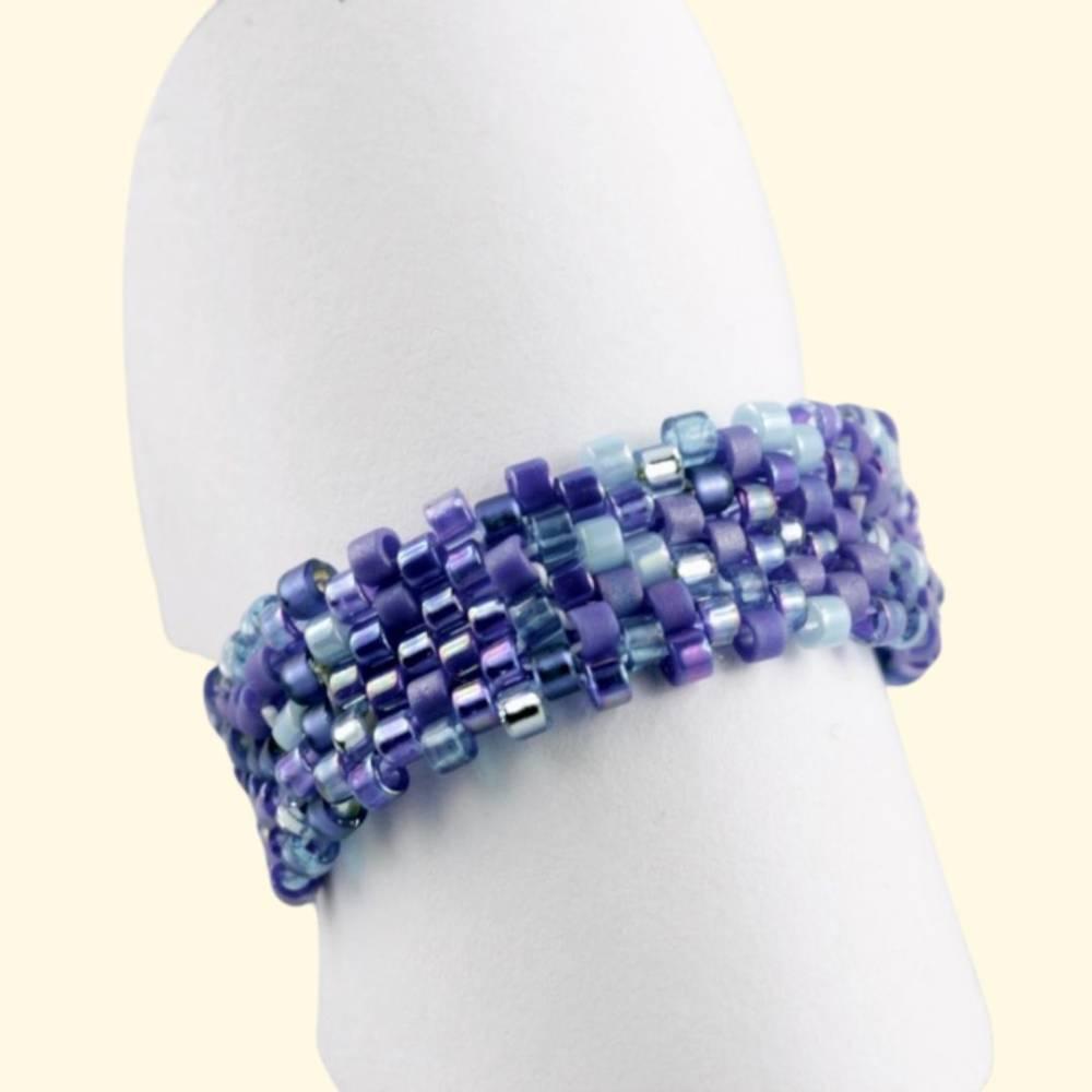Ring Bandring blau Bild 1