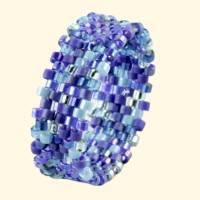 Ring Bandring blau Bild 2