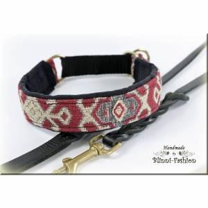 Halsband ISTANBUL mit Zugstopp für deinen Hund, Hundehalsband Martingale in verschiedene Farben
