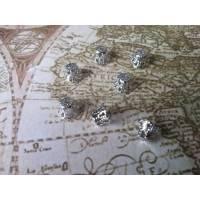 50 Mini-Trichter-Perlenkappen Bild 1