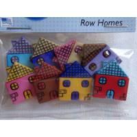 Dress it up Knöpfe  Häuser   (1 Pck.)   Row Homes